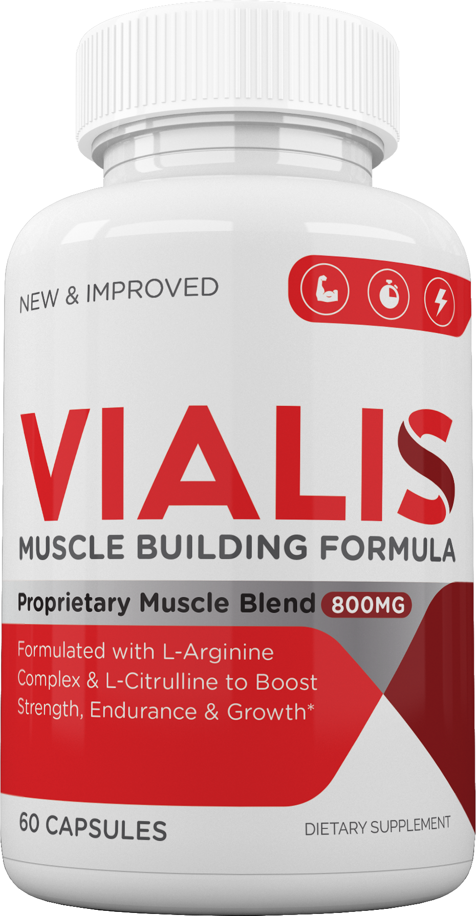 NEW Vialis Testosterone Booster 60 Capsules - FREE SHIPPING eBay
