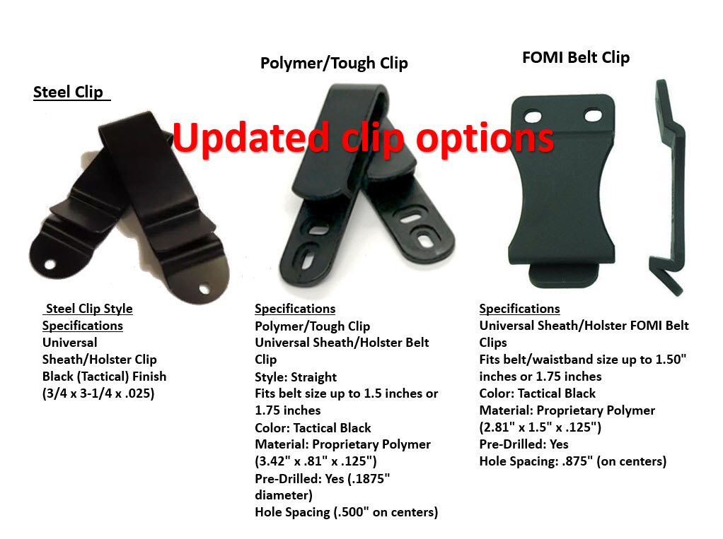 1x set mod wing for Holster /& hardware offered by Veterans in the USA