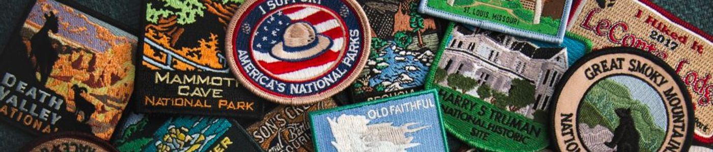 USA Seller 1306-S Iron On Tan Red Hat Lady Society Embroidered Patch Applique